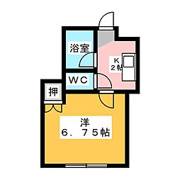 HKマンション大塚[2階]の間取り