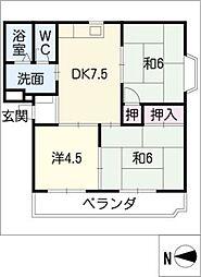 アーバンユキ[2階]の間取り
