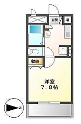 ノーブルハウス吉田[3階]の間取り