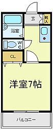 レガート昭和[3階]の間取り