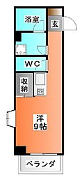 東京都北区赤羽1の賃貸マンションの間取り