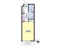 J-PLACE香住ケ丘[2階]の間取り