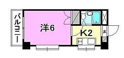 コーポ岡崎[301 号室号室]の間取り