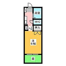 エル酒井[1階]の間取り