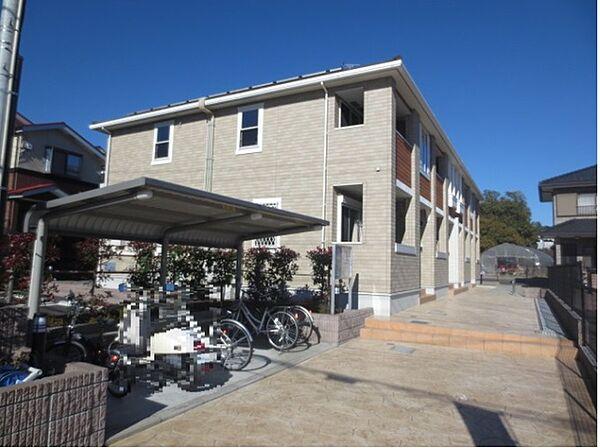 神奈川県藤沢市高倉の賃貸アパート