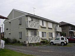 岡村ハイツ矢場 B[202号室]の外観