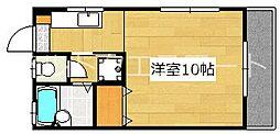 クリスタルハーモニー[1階]の間取り