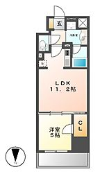 ダイワシティー大須[9階]の間取り