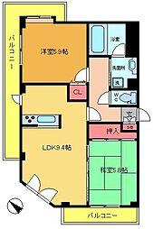 ライオンズマンション綾瀬第7[301号室]の間取り