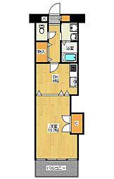 ラベニール[2階]の間取り