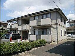 福岡県春日市下白水南1丁目の賃貸アパートの外観