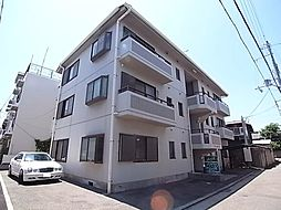 兵庫県明石市大蔵本町の賃貸マンションの外観