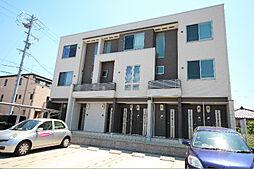 愛知県名古屋市中川区中郷5の賃貸アパートの外観
