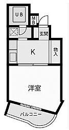 ノアハヤシII[109号室号室]の間取り