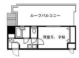 CoralFarm[4階]の間取り