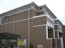 大阪府大阪市東住吉区住道矢田2丁目の賃貸アパートの外観