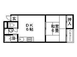内藤マンション[2階]の間取り