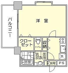 ピュアエスク比恵[9階]の間取り