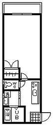 ステートラスK2[301号室]の間取り