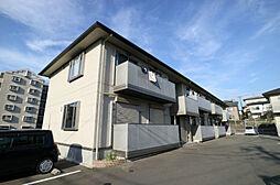 福岡県春日市昇町7丁目の賃貸アパートの外観