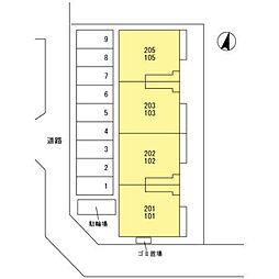 (仮)D‐room桜区南元宿2丁目 I[202号室]の外観
