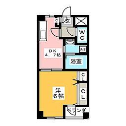 カーサナカムラ[2階]の間取り