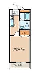 千葉県浦安市海楽1丁目の賃貸マンションの間取り