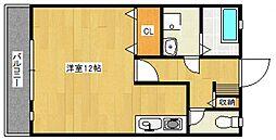セゾンコート壱番館[2階]の間取り