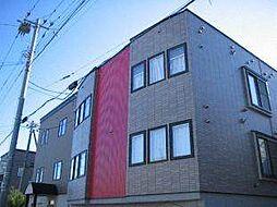 北海道札幌市東区北三十二条東17丁目の賃貸アパートの外観