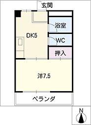 AdvanceOcean101[3階]の間取り
