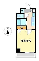 プラーチド[8階]の間取り