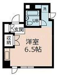 神奈川県横浜市中区伊勢佐木町5丁目の賃貸マンションの間取り