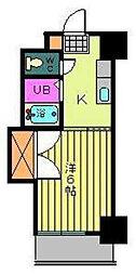 第96杉フラット[602 号室号室]の間取り