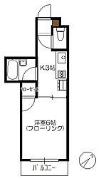 N4三宅[205号室]の間取り