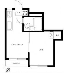 ルーブル成増[2階]の間取り