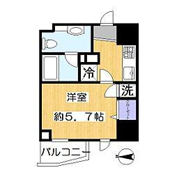 ライブコート草加[4階]の間取り