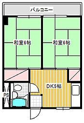 ヴェルデ藤沢[103号室]の間取り