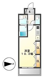 LIBERTA CARINO(リベルタカリーノ)[8階]の間取り