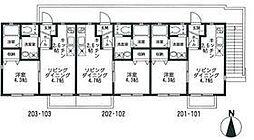 港南区港南3丁目ソレイユ港南 202号室[202号室号室]の間取り