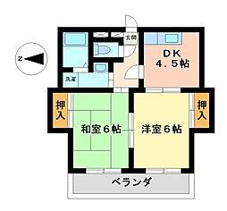 クリエイティブ21[5階]の間取り