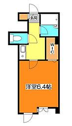 埼玉県新座市栗原5-の賃貸マンションの間取り