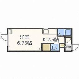 東札幌スカイハイツ[1階]の間取り