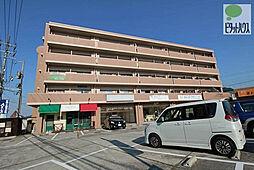 岡山県岡山市東区上道北方の賃貸マンションの外観