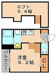 TRANQUIL(トランクイル)[1階]の間取り