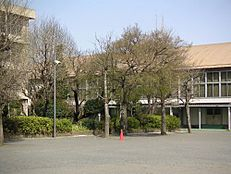 中学校東大和市立第一中学校まで612m