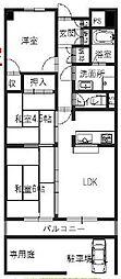朝日プラザ姫路東[1階]の間取り