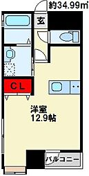 アヴィタシヨン浅生通り[3階]の間取り