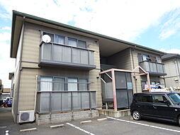 岡山県倉敷市神田3の賃貸アパートの外観