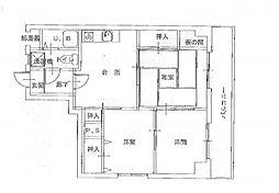 マンションヴィック5[5階]の間取り