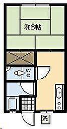 木村アパート[103号室]の間取り
